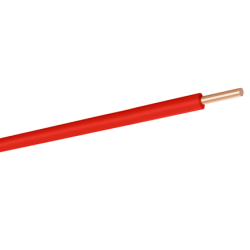 HES KABLO - Nya 1X2.5 H07V-U Pvc Kablo Kırmızı
