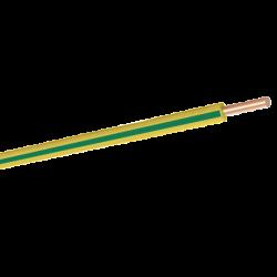 HES KABLO - Nya 1X2.5 H07V-U Pvc Kablo Sarı Yeşil