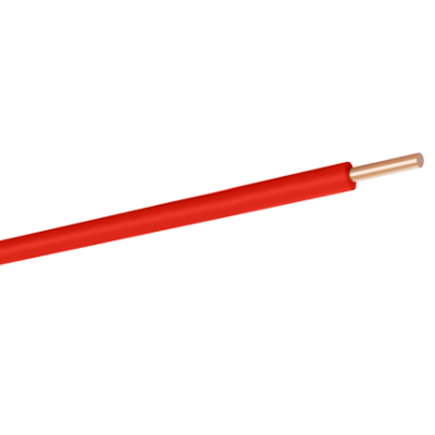 NYA 1X4 H07V-U PVC KABLO KIRMIZI