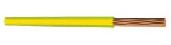 HES KABLO - NYAF (H)05Z1-K 1x0.75 FLEX 750V H.FREE KABLO SARI YEŞİL