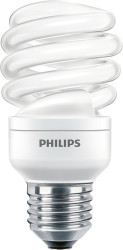PHILIPS - Economy Twister 15W WW E27 220-240V 1PF/6 929689220801