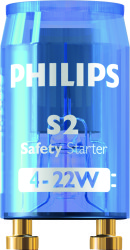 PHILIPS - S2 4-22W SER 220-240V BL LIS/12X25CT 928390610114